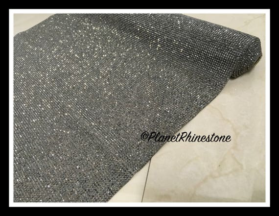 Iron-On Rhinestone Sheet Panel - Glass Crystal Rhinestone Sheets #S004