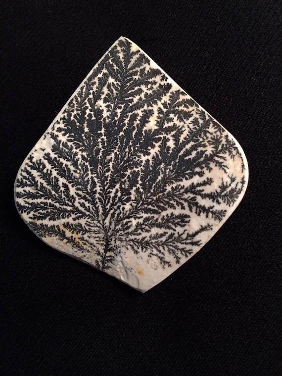 Paysage, l'Agate dendritique naturelle, pyrolusite cabochon, arbre de de arbre vie, plus rares, exotique Pierre, opale noire, bijoux wiccan, style audacieux, géodes 6d31d2