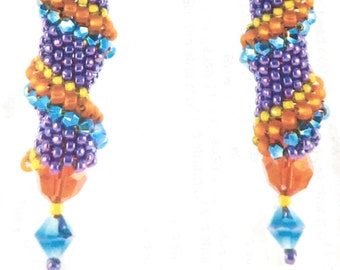 Crystal Spiral Earrings Kit