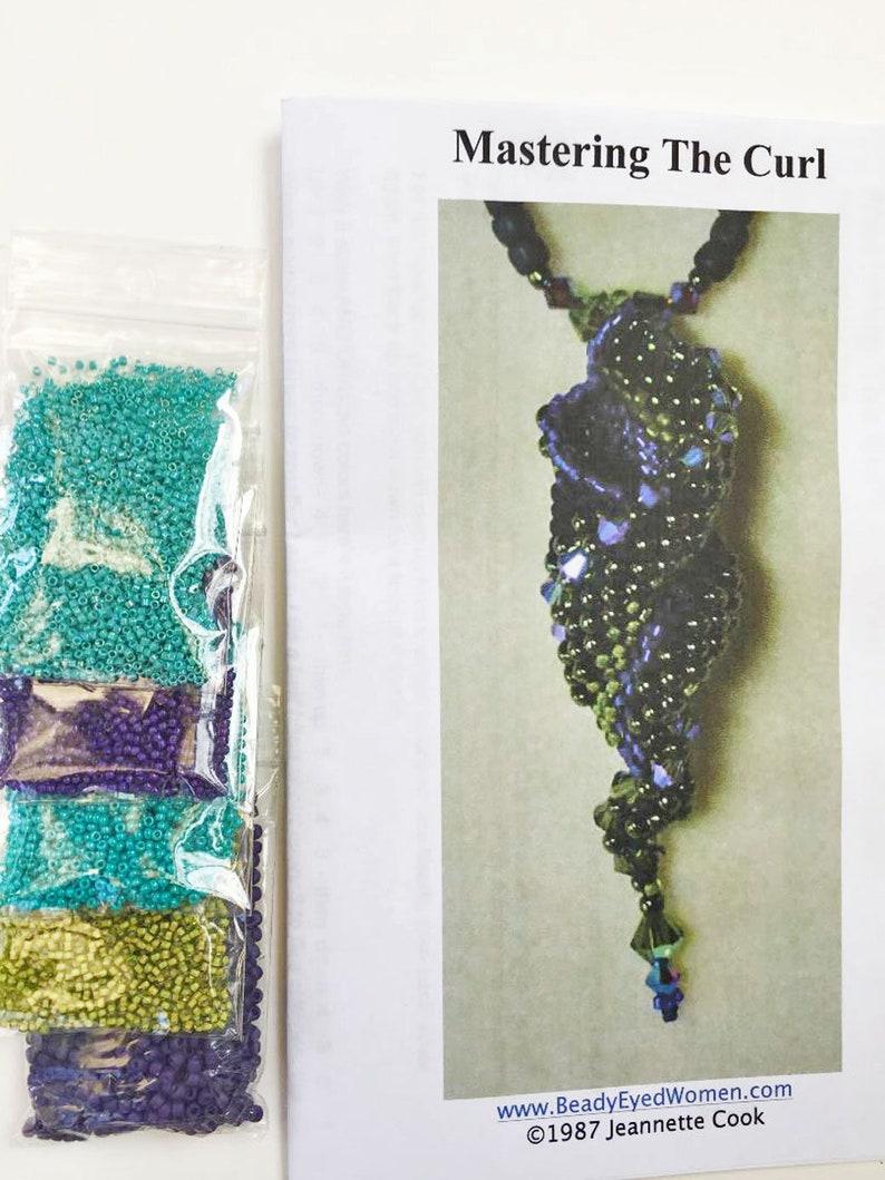 Mastering the Curl Kit 13  Teal Purple & Light Olivine image 0