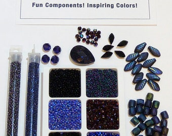 Color Plays - Midnight Sky - Bead Packs