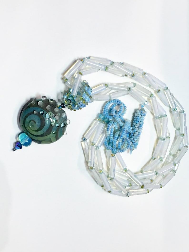 Glacial Goddess Necklace image 0