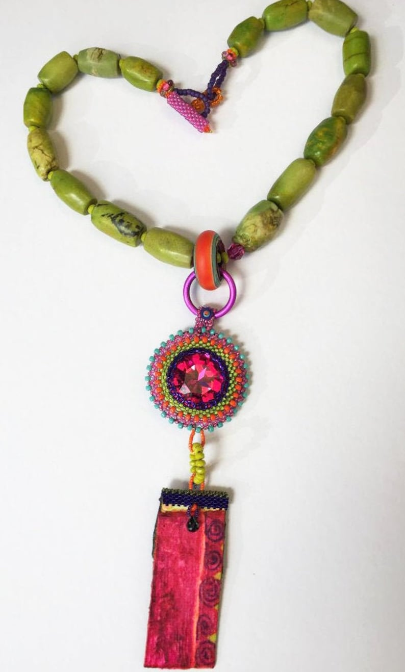 Fantastical Magical Art to Wear Necklace image 0