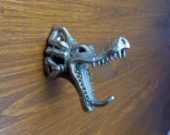 dragon wall hook - steel