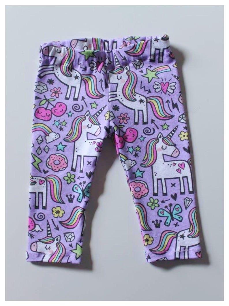 130cc82da7c2e Unicorn Party Leggings baby leggings toddler leggings girl | Etsy