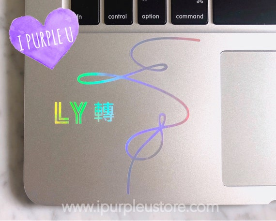 Bts Love Yourself Tear Album Cover Holographic Decal