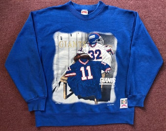 ab742496d 90 s Vintage New York Giants crewneck sweatshirt Large 1994 nutmeg made in  usa knicks yankees mets
