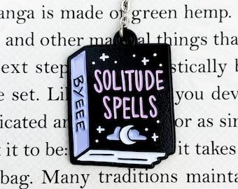 Bookmark // Introvert // Witch // Solitude Spells