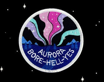 Patch // Space // Aurora Bore-hell-yes