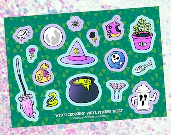Stickers // Witch Crossing