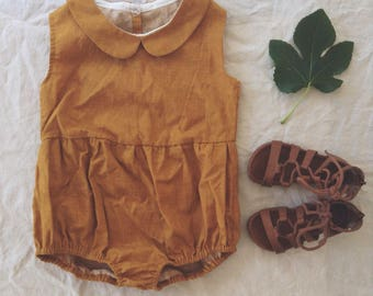 Unisex Kids Playsuit- PDF Pattern
