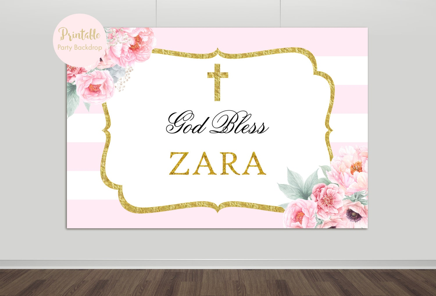 image relating to Printable Backdrop named Christening Backdrop Photographs - Opposite Appear