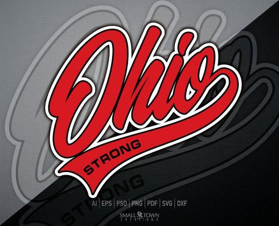 Ohio Ohio Strong Ohio State Ohio Script Ohio Logo Ohio Etsy