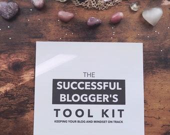 Blog Planner - Business Planner - Mindset Worksheets - Blogging Checklists - How to Start a Blog - Business Tool Kit