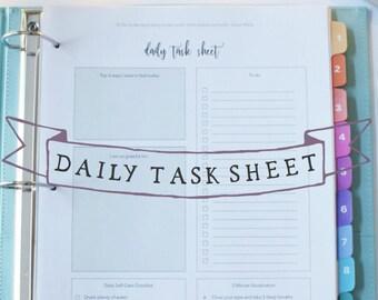 Heilige Self-Care für Mütter Guide Arbeitsblatt Bundle