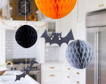 Halloween Bat Decorations | Halloween Decorations - Halloween Home Decor - Halloween Party Supplies - Bat Decor - Bat Halloween