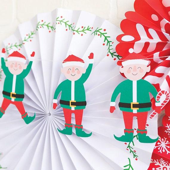 decoraci/ón de Mesa de d/ía Festivo para decoraci/ón del hogar myonly Mu/ñeca de Elfo de Navidad para ni/ños