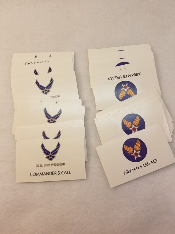 U S Air Force Edition Monopoly Game Pieces Cards Monopoly And Game Cards For Upcycled Art Projects Mixed Media Shadow Boxes Etc