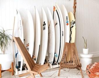 THE LINEUP Surfboard Freestanding Floor Display Rack