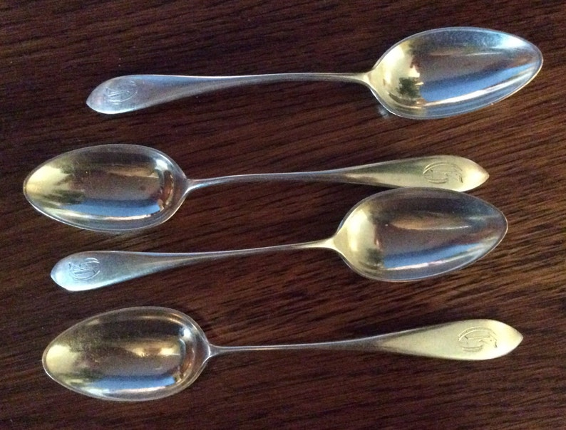 GORHAM MOTHERS STERLING SILVER DEMITASSE SPOON GOOD CONDITION