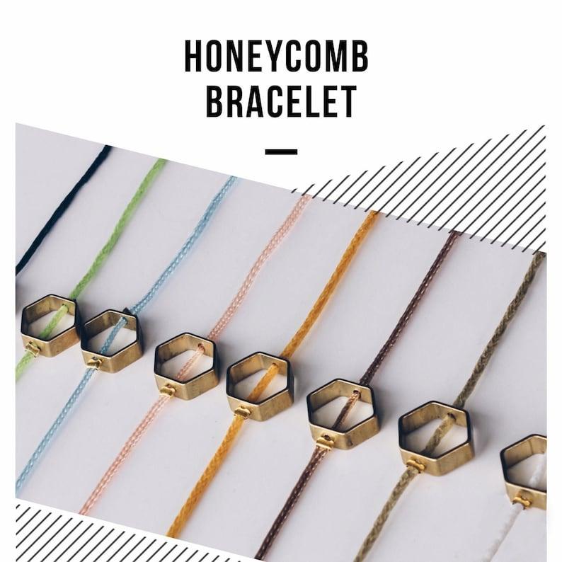 Honeycomb bracelet image 0