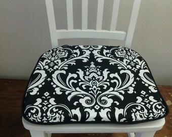 damask seat cushions etsy