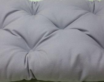 Enjoyable Tufted Bench Cushion 60X 15 Natural Cotton Canvas Seat Etsy Creativecarmelina Interior Chair Design Creativecarmelinacom