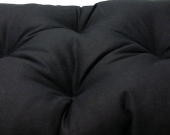 Excellent Tufted Bench Cushion 60X 15 Natural Cotton Canvas Seat Etsy Creativecarmelina Interior Chair Design Creativecarmelinacom
