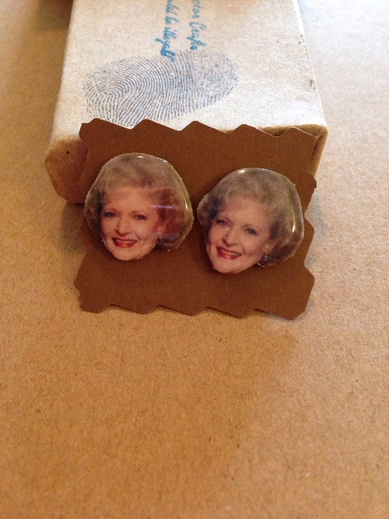 Rose Nylund from the Golden Girls Studs Post | Etsy