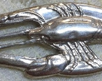 Six silver-plated Lobster Picks