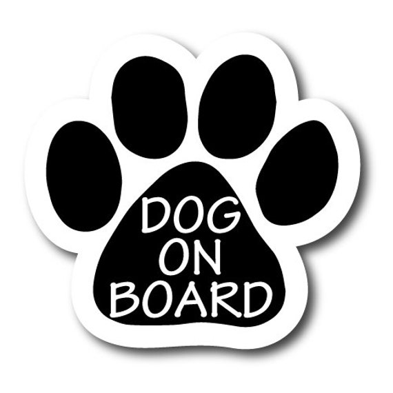 """2 x 7/"""" Heavy Duty for Car 2 Pack Dog Bone Car Magnets Dog Uncle and Dog Aunt"""