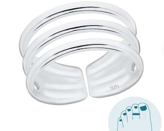 925 Sterling Silver Toering Toe Ring Toerings Toe Rings