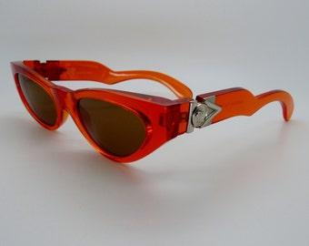 02d84f367d3 Vintage Gianni Versace Sunglasses Mod 476 A Col 782 Unisex Medium Large