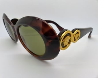 4ba40fb84f2 Gianni Versace Sunglasses Mod 418 Col 900 Genuine Vintage New Old Stock