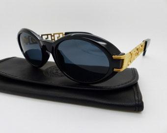 038e20401796 Genuine Rare Vintage Gianni Versace Medusa Sunglasses Mod 486 Col 852