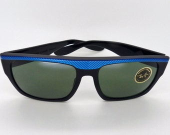 e65d9c7643 RayBan W0361 Drifter Street Vintage B L Neat Electric Blue New Old Stock!