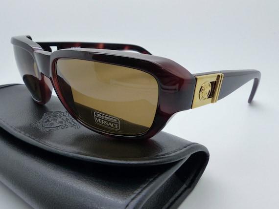 253b6a2c53a Gianni Versace Medusa Sunglasses Mod 412 A Col 900 Genuine