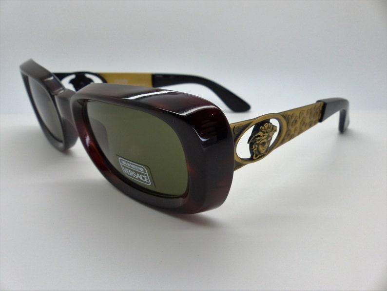 ae7cc910b82 Gianni Versace Sunglasses Mod 493 A Col 900 Genuine Vintage