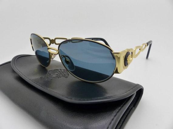 7dd1ee50f9 Genuine Rare Vintage Gianni Versace Medusa Sunglasses Mod S32 | Etsy