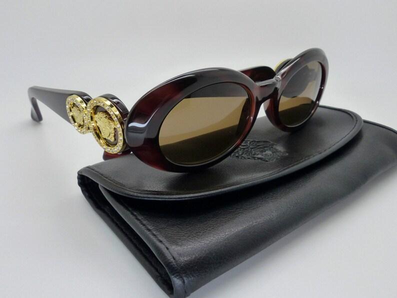 f5fb288682d Gianni Versace Sunglasses Mod 527 C Col 900 Genuine Vintage
