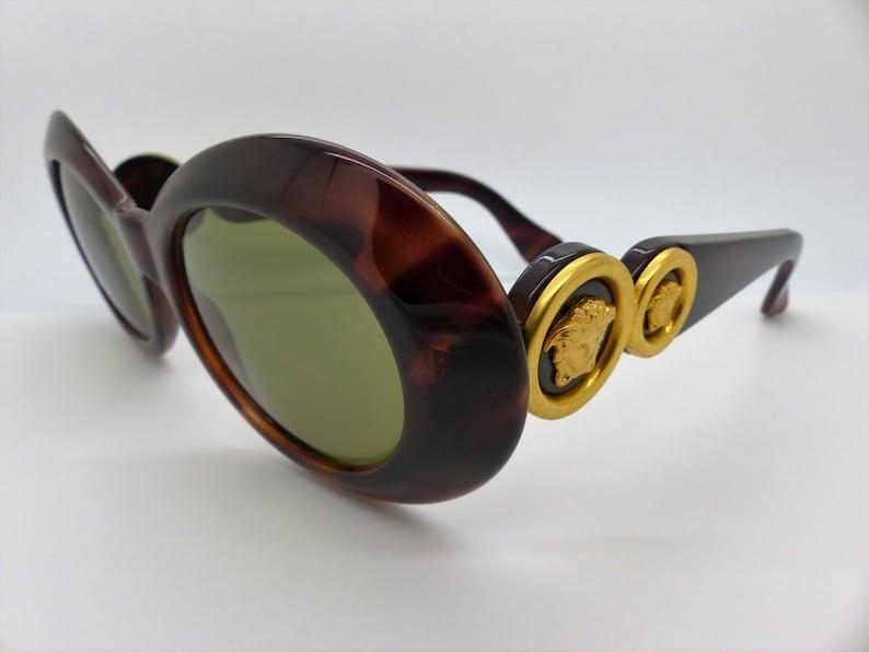 2e000fef385 Gianni Versace Sunglasses Mod 418 Col 900 Genuine Vintage New
