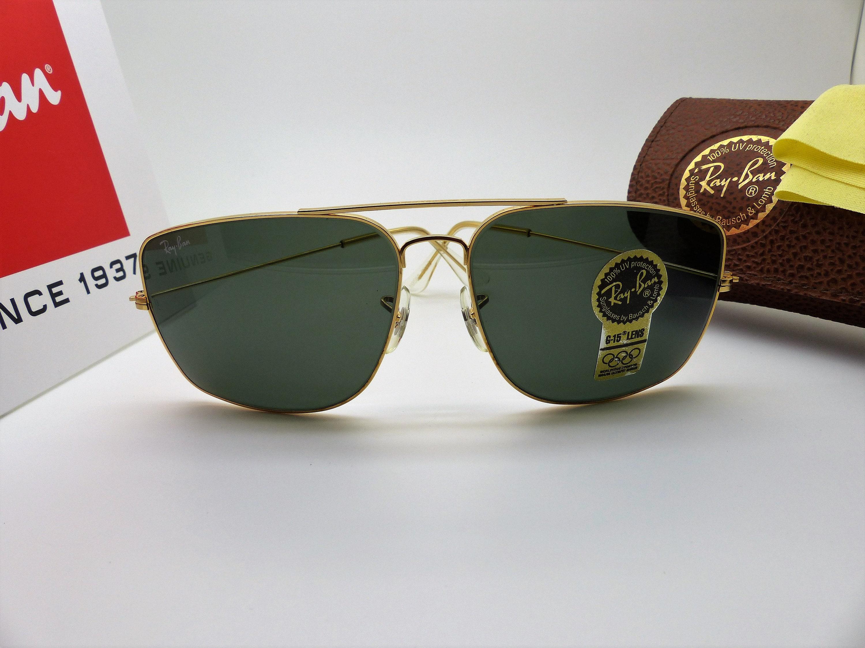 6cb52c2c654 Vintage B   L Ray-Ban W0502 Explorer duża karawana okulary
