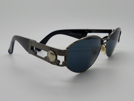 3842c2604f1 Items similar to Genuine Rare Vintage Gianni Versace Sunglasses Mod S75 Col  89M New Old Stock on Etsy