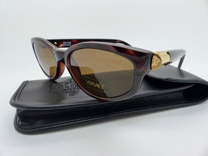 9f59d211b08 Gianni Versace Sunglasses Mod. 614 M Col 900 Genuine Vintage