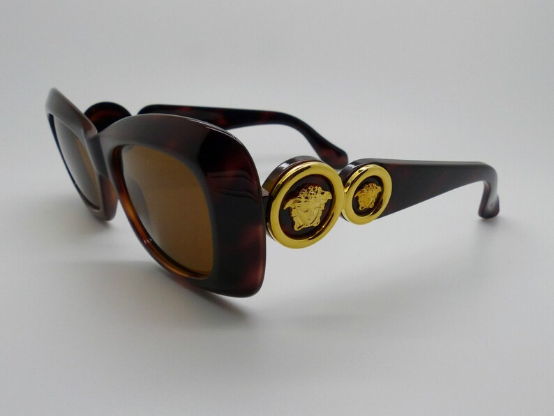 274a1f07747 Gianni Versace Sunglasses Mod 417 Col 900 Unisex Genuine Rare