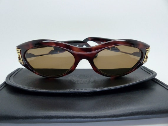 e42ca42c53e Gianni Versace Sunglasses Mod 488 Col 900 New Old Stock