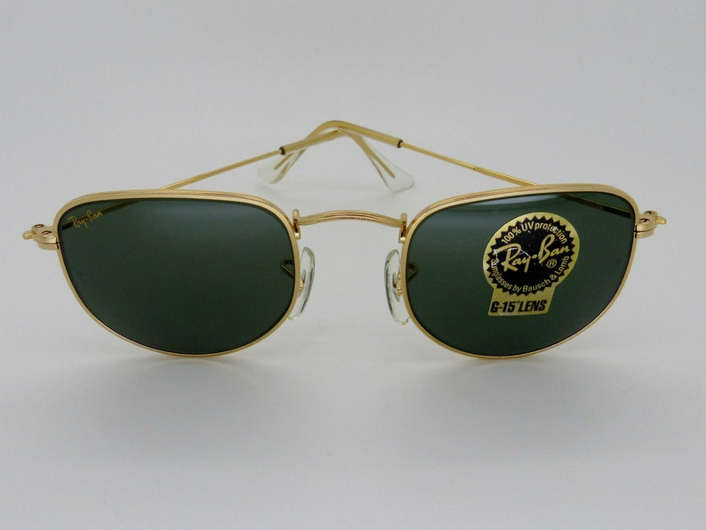 5ff685890495d RayBan B L W0978 Arista Gold Classic Collection G-15 Unisex