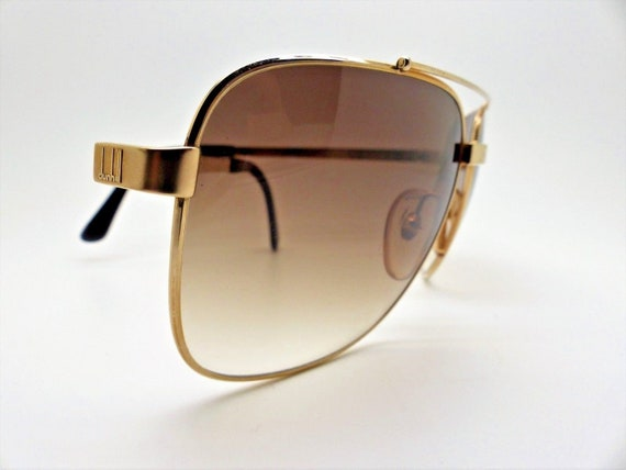 b6d0b3d978 Vintage 80 s DUNHILL 6036 40 Aviator 100% Authentic New