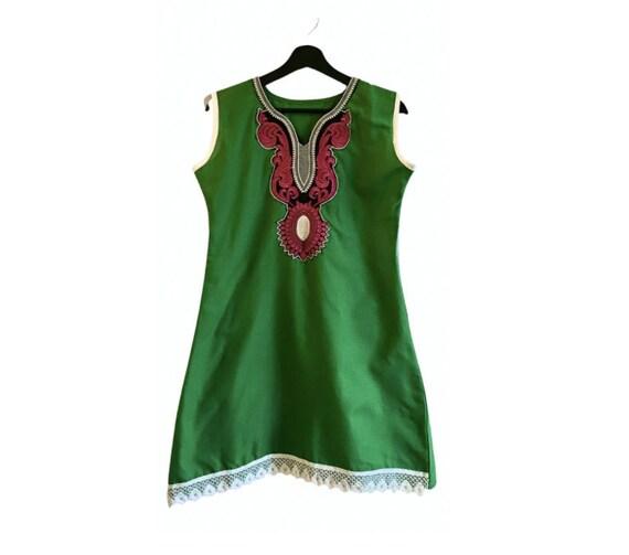 EXCELLENT CONDITION Vintage 60s handmade mini dres
