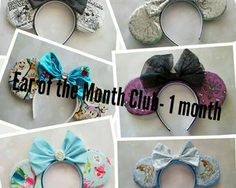 Ear of the Month Club- 1 month